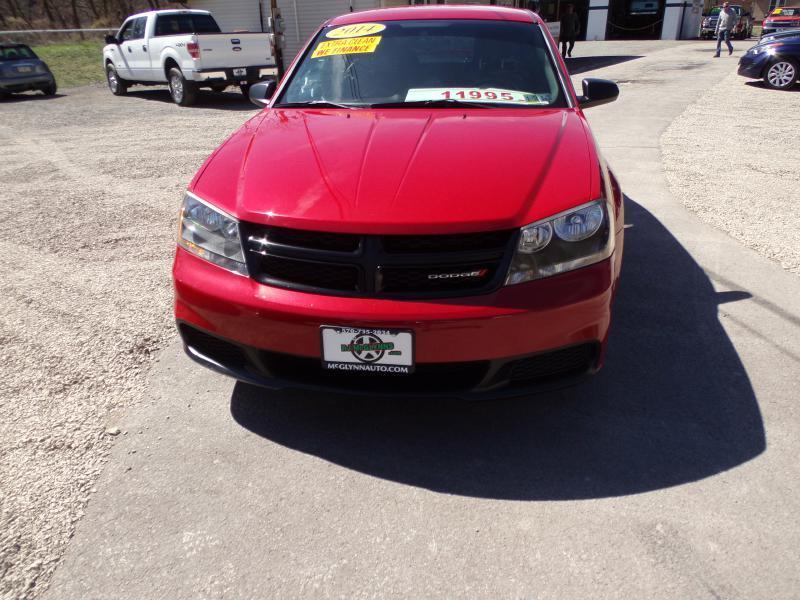 2014 Dodge Avenger for sale at RJ McGlynn Auto Exchange in West Nanticoke PA