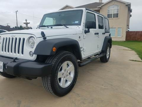 2017 Jeep Wrangler Unlimited for sale in Lubbock, TX