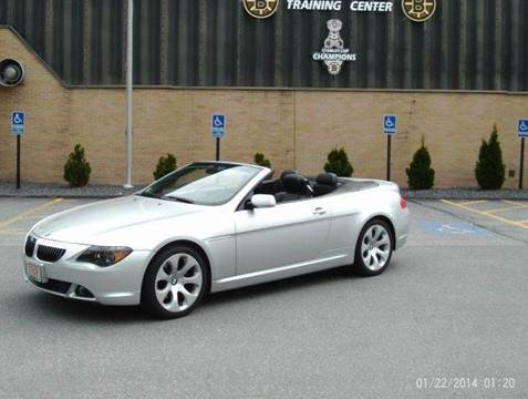 2006 BMW 6 Series for sale at Cars R Us Of Kingston in Kingston NH