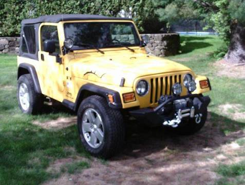 2005 Jeep Wrangler for sale at Cars R Us Of Kingston in Kingston NH