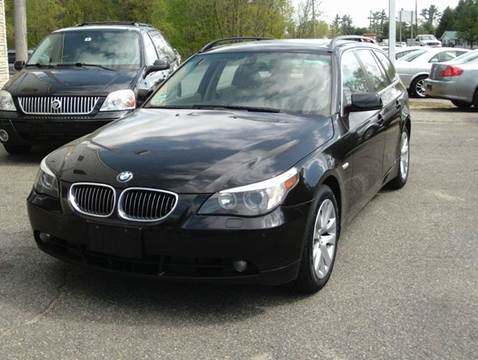 2007 BMW 5 Series for sale at Cars R Us Of Kingston in Kingston NH