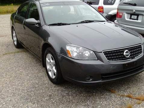 2006 Nissan Altima for sale at Cars R Us Of Kingston in Kingston NH