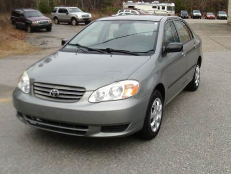 2003 Toyota Corolla for sale at Cars R Us Of Kingston in Kingston NH
