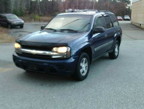 2004 Chevrolet TrailBlazer for sale at Cars R Us Of Kingston in Kingston NH