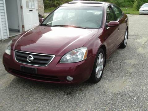 2002 Nissan Altima for sale at Cars R Us Of Kingston in Kingston NH