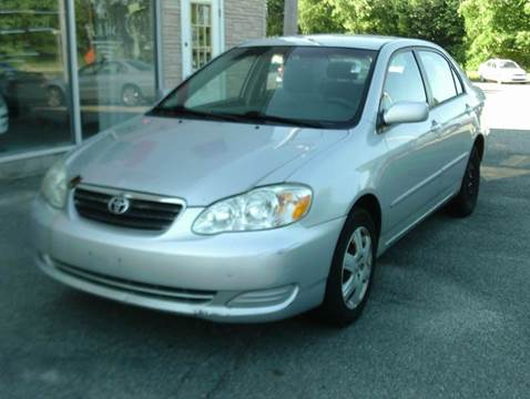 2005 Toyota Corolla for sale at Cars R Us Of Kingston in Kingston NH