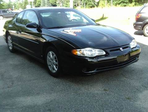 2004 Chevrolet Monte Carlo for sale at Cars R Us Of Kingston in Kingston NH