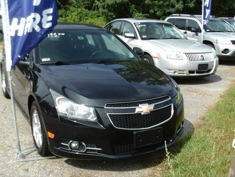 2011 Chevrolet Cruze for sale at Cars R Us Of Kingston in Kingston NH