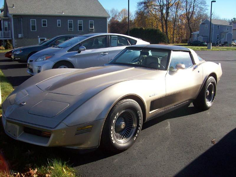 1982 Chevrolet Corvette for sale at Wayside Auto Sales in Seekonk MA