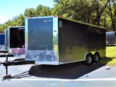 2017 Freedom 8.5x16TA for sale at Sussex County Auto & Trailer Exchange -$700 drives in Wantage NJ