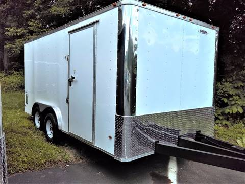 2017 Freedom 8x16TA Flat Front for sale at Sussex County Auto & Trailer Exchange -$700 drives in Wantage NJ