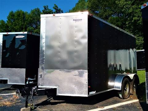 2018 Freedom 7x12TA for sale at Sussex County Auto & Trailer Exchange -$700 drives in Wantage NJ
