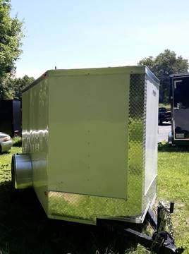 2019 Freedom 5x8SA V-Nose W/ Back Ramp Door for sale in Wantage, NJ