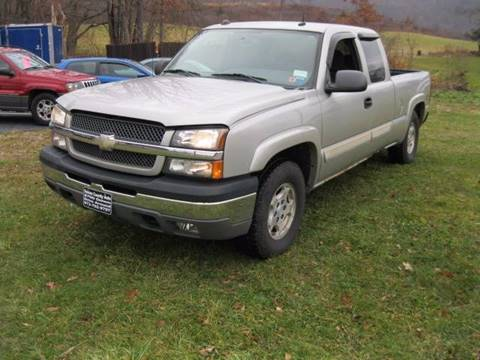2004 Chevrolet Silverado 1500 for sale at Sussex County Auto & Trailer Exchange -$700 drives in Wantage NJ