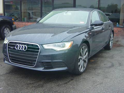 2012 Audi A6 for sale at North South Motorcars in Seabrook NH