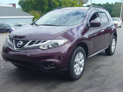 2014 Nissan Murano for sale at North South Motorcars in Seabrook NH
