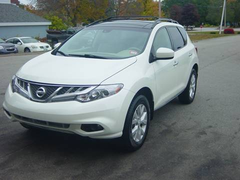 2012 Nissan Murano for sale at North South Motorcars in Seabrook NH