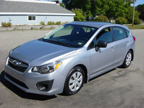 2013 Subaru Impreza for sale at North South Motorcars in Seabrook NH