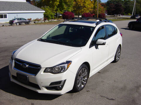2016 Subaru Impreza for sale at North South Motorcars in Seabrook NH