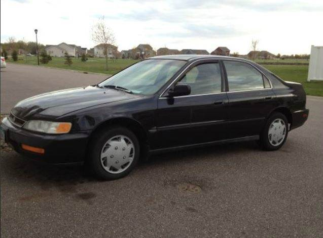 1996 Honda Accord Lx Sedan In Janesville Mn Car Dude