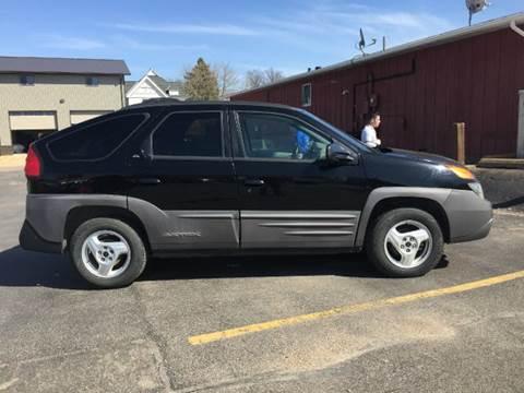 2001 Pontiac Aztek Gt 4dr Suv In Janesville Mn Car Dude
