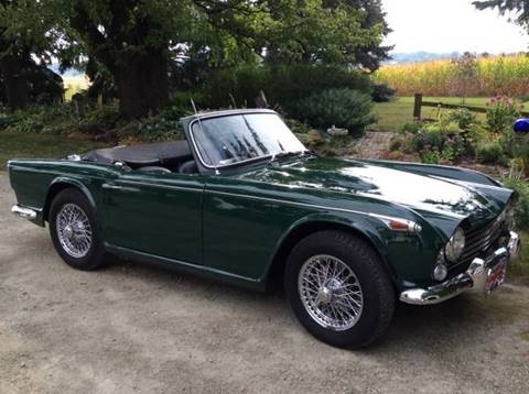 1966 Triumph TR4 for sale in Janesville, MN