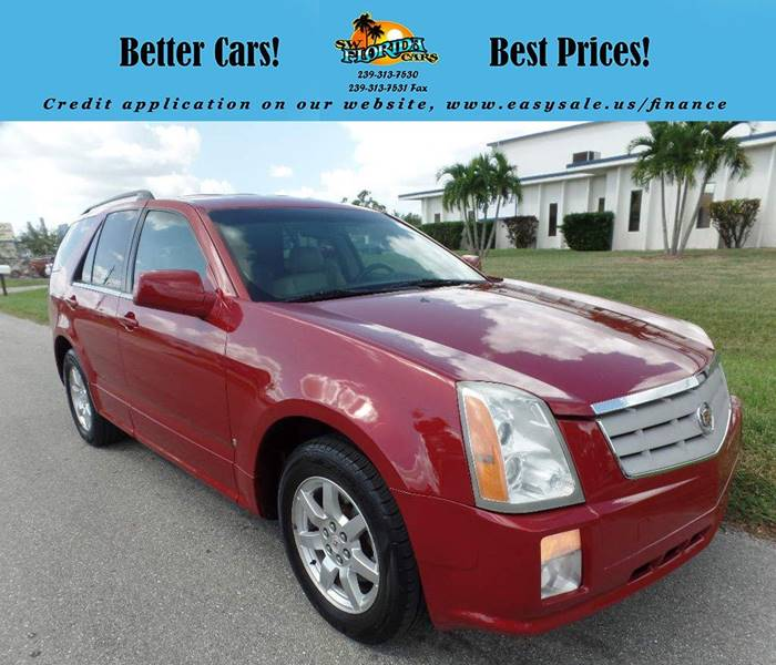 Cadillac Dealership Tampa: 2008 Cadillac Srx V6 4dr SUV In Fort Myers FL