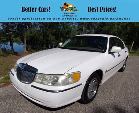 2000 Lincoln Town Car For Sale In Mccomb Ms Carsforsale Com