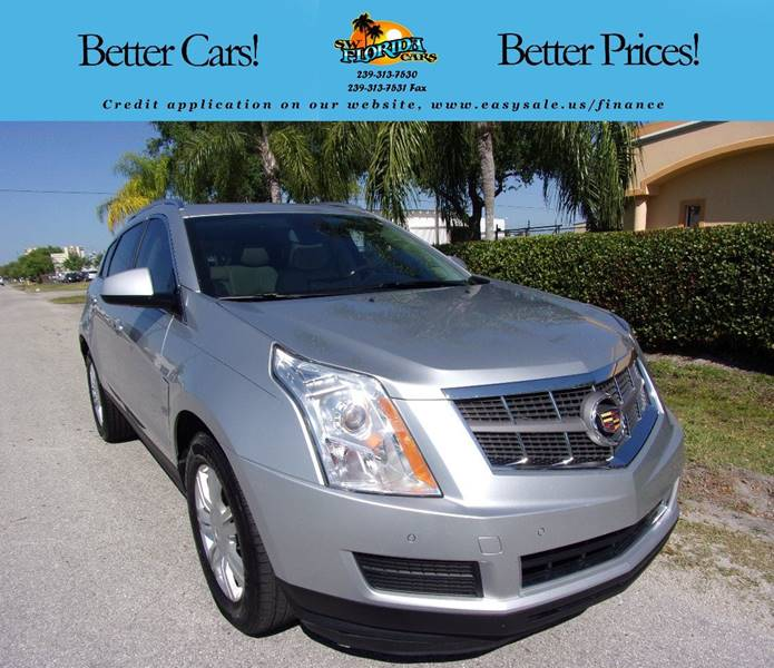 2015 Cadillac Cts 2 0l Turbo Luxury: 2010 Cadillac Srx Luxury Collection 4dr SUV In Fort Myers