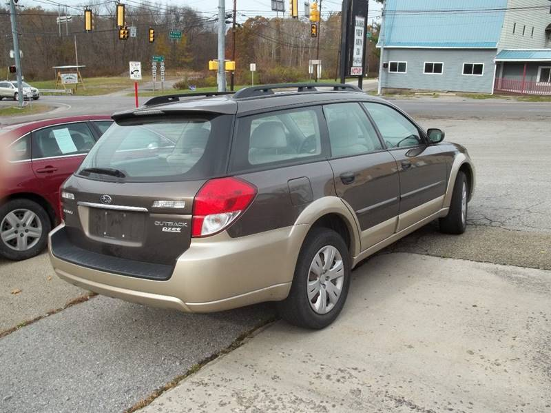 Stoystown Auto Sales >> 2008 Subaru Outback AWD 4dr Wagon 4A In Stoystown PA ...