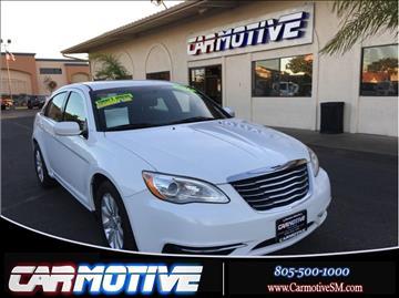 2013 Chrysler 200 for sale in Santa Maria, CA