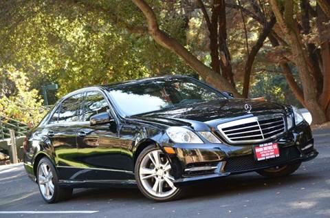 2013 Mercedes-Benz E-Class for sale at Brand Motors llc - Belmont Lot in Belmont CA