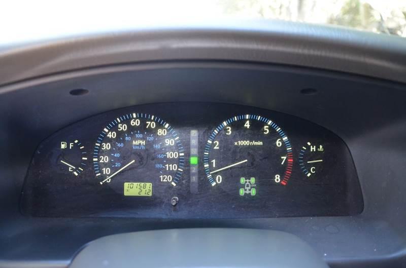 2001 Infiniti QX4 Base 4WD 4dr SUV - Belmont CA