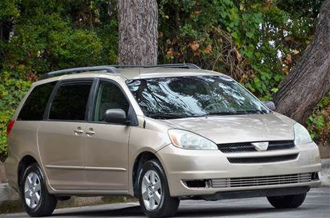 2004 Toyota Sienna for sale at Brand Motors llc - Belmont Lot in Belmont CA
