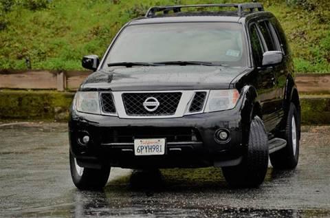 2008 Nissan Pathfinder for sale at Brand Motors llc - Belmont Lot in Belmont CA
