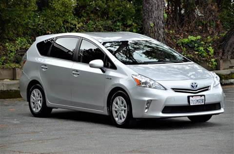 2013 Toyota Prius v for sale at Brand Motors llc - Belmont Lot in Belmont CA