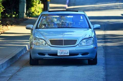 2002 Mercedes-Benz S-Class for sale at Brand Motors llc in Belmont CA