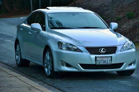 2007 Lexus IS 250 for sale at Brand Motors llc in Belmont CA