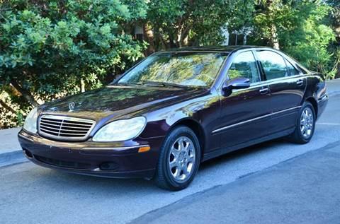 2000 Mercedes-Benz S-Class for sale at Brand Motors llc - Belmont Lot in Belmont CA
