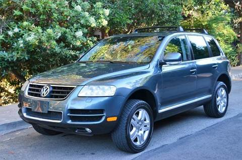 2005 Volkswagen Touareg for sale at Brand Motors llc - Belmont Lot in Belmont CA