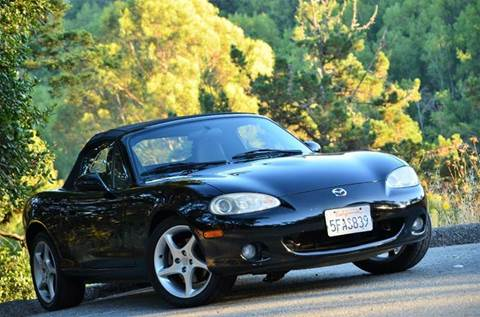 2003 Mazda MX-5 Miata for sale at Brand Motors llc - Belmont Lot in Belmont CA