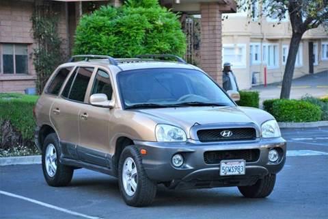 2004 Hyundai Santa Fe for sale at Brand Motors llc - Belmont Lot in Belmont CA