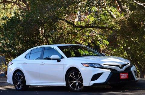 2018 Toyota Camry for sale at Brand Motors llc - Belmont Lot in Belmont CA