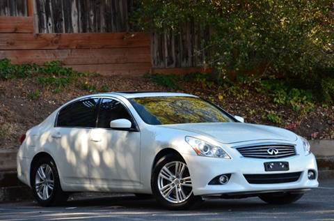 2012 Infiniti G37 Sedan for sale at Brand Motors llc - Belmont Lot in Belmont CA