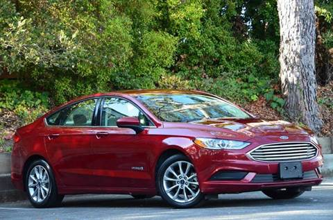 2017 Ford Fusion Hybrid for sale at Brand Motors llc - Belmont Lot in Belmont CA