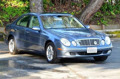 2004 Mercedes-Benz E-Class for sale at Brand Motors llc - Belmont Lot in Belmont CA
