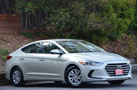 2017 Hyundai Elantra for sale at Brand Motors llc - Belmont Lot in Belmont CA