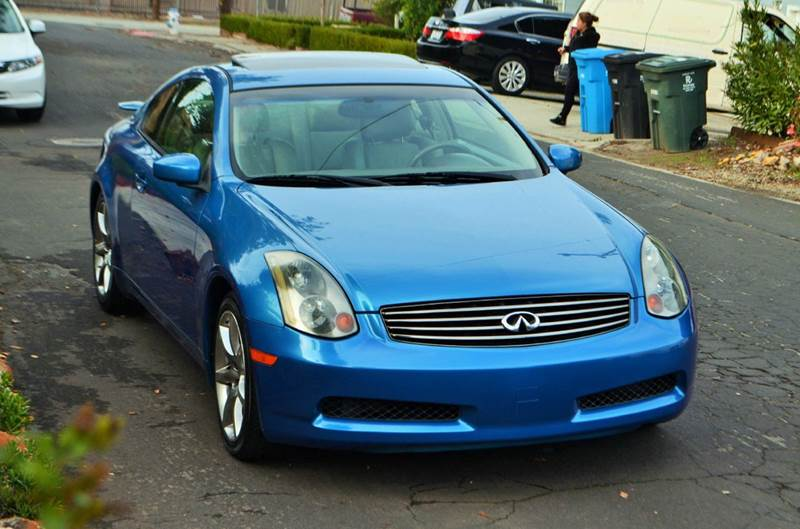 2003 Infiniti G35 Base 2dr Coupe w/Leather - Belmont CA