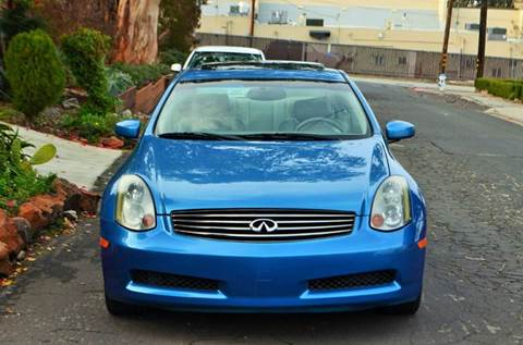 2003 Infiniti G35 for sale at Brand Motors llc in Belmont CA