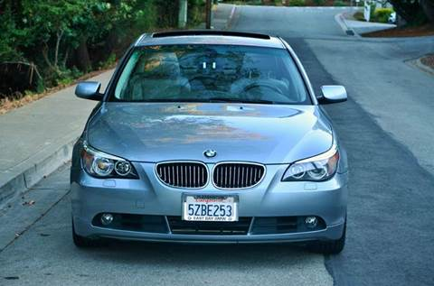 2007 BMW 5 Series for sale at Brand Motors llc in Belmont CA